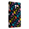 Colorful Floral Pattern Sony Xperia ZL (L35H) View2