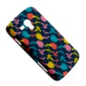 Colorful Floral Pattern Samsung Galaxy Duos I8262 Hardshell Case  View5
