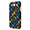 Colorful Floral Pattern Samsung Galaxy Mega 5.8 I9152 Hardshell Case  View3