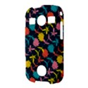 Colorful Floral Pattern Samsung Galaxy S7710 Xcover 2 Hardshell Case View3