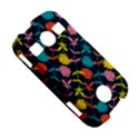 Colorful Floral Pattern Samsung Galaxy S7710 Xcover 2 Hardshell Case View5