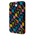 Colorful Floral Pattern Samsung Galaxy Tab 3 (7 ) P3200 Hardshell Case  View3