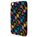 Colorful Floral Pattern Samsung Galaxy Tab 3 (8 ) T3100 Hardshell Case  View3