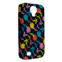 Colorful Floral Pattern Samsung Galaxy S4 Classic Hardshell Case (PC+Silicone) View2