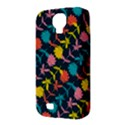 Colorful Floral Pattern Samsung Galaxy S4 Classic Hardshell Case (PC+Silicone) View3