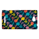 Colorful Floral Pattern Sony Xperia C (S39H) View1