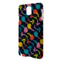Colorful Floral Pattern Samsung Galaxy Note 3 N9005 Hardshell Case View3