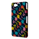 Colorful Floral Pattern Sony Xperia Z1 Compact View3