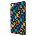 Colorful Floral Pattern Samsung Galaxy Tab Pro 8.4 Hardshell Case View3