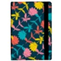 Colorful Floral Pattern iPad Mini 2 Flip Cases View2