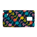 Colorful Floral Pattern Samsung Galaxy Note 4 Hardshell Case View1