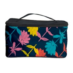 Colorful Floral Pattern Cosmetic Storage Case