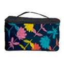 Colorful Floral Pattern Cosmetic Storage Case View1