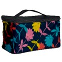 Colorful Floral Pattern Cosmetic Storage Case View2