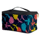 Colorful Floral Pattern Cosmetic Storage Case View3