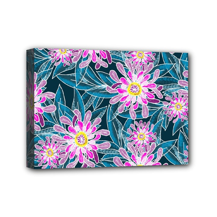 Whimsical Garden Mini Canvas 7  x 5
