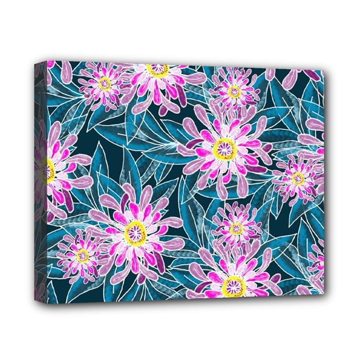 Whimsical Garden Canvas 10  x 8