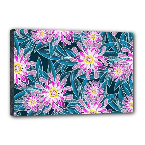 Whimsical Garden Canvas 18  x 12