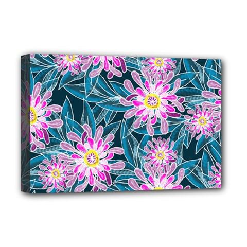 Whimsical Garden Deluxe Canvas 18  x 12