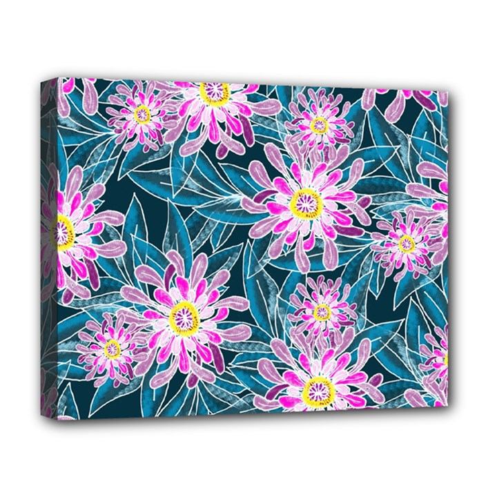 Whimsical Garden Deluxe Canvas 20  x 16