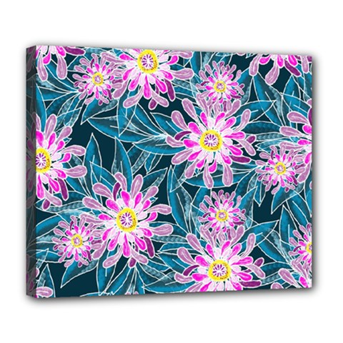 Whimsical Garden Deluxe Canvas 24  x 20