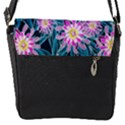Whimsical Garden Flap Messenger Bag (S) View1