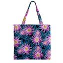 Whimsical Garden Zipper Grocery Tote Bag View2