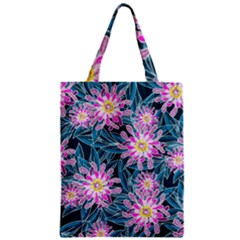 Whimsical Garden Zipper Classic Tote Bag