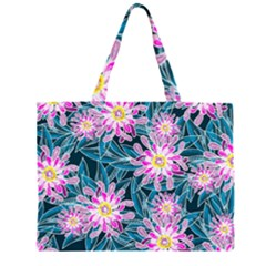 Whimsical Garden Large Tote Bag