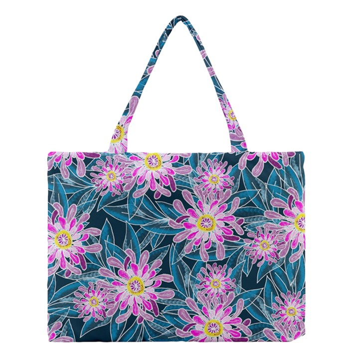 Whimsical Garden Medium Tote Bag
