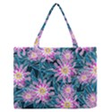 Whimsical Garden Medium Zipper Tote Bag View1