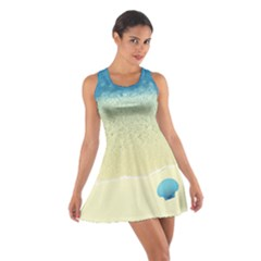 Seashell Seashore Cotton Racerback Dress