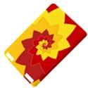 Flower Blossom Spiral Design  Red Yellow Kindle Touch 3G View4