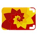 Flower Blossom Spiral Design  Red Yellow Kindle 3 Keyboard 3G View1