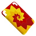 Flower Blossom Spiral Design  Red Yellow Kindle 3 Keyboard 3G View5