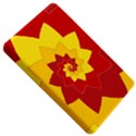 Flower Blossom Spiral Design  Red Yellow Kindle Fire (1st Gen) Hardshell Case View5