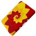 Flower Blossom Spiral Design  Red Yellow Samsung Galaxy Tab 8.9  P7300 Hardshell Case  View4