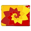 Flower Blossom Spiral Design  Red Yellow iPad Air Hardshell Cases View1