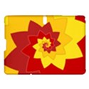 Flower Blossom Spiral Design  Red Yellow Samsung Galaxy Tab S (10.5 ) Hardshell Case  View1