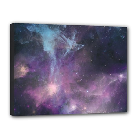 Blue Galaxy  Canvas 16  x 12