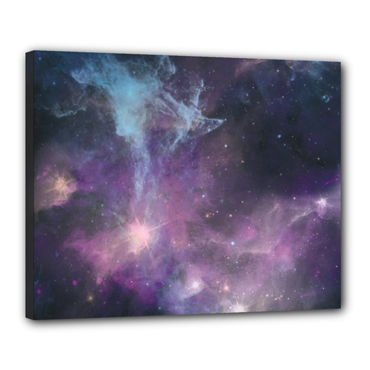 Blue Galaxy  Canvas 20  x 16