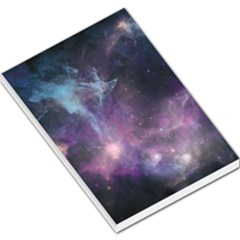 Blue Galaxy  Large Memo Pads