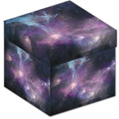 Blue Galaxy  Storage Stool 12