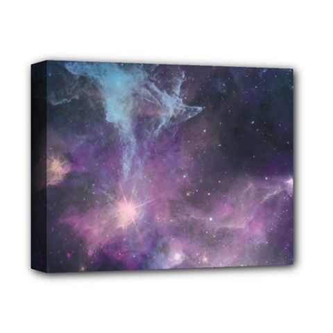 Blue Galaxy  Deluxe Canvas 14  x 11