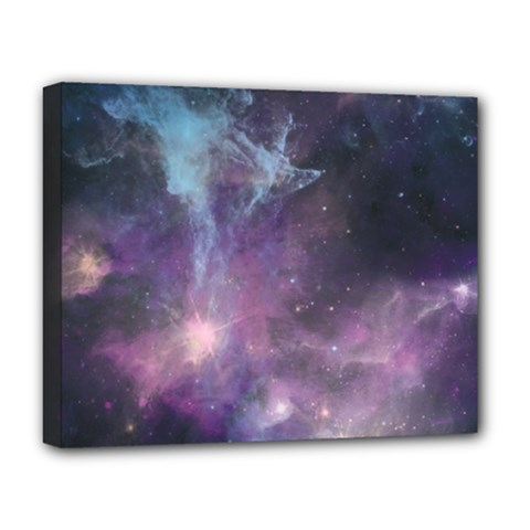Blue Galaxy  Deluxe Canvas 20  x 16