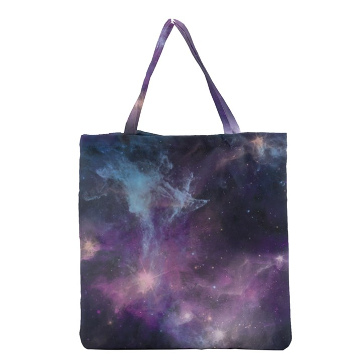 Blue Galaxy  Grocery Tote Bag