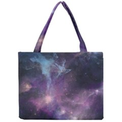 Blue Galaxy  Mini Tote Bag