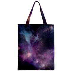Blue Galaxy  Zipper Classic Tote Bag