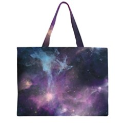 Blue Galaxy  Large Tote Bag