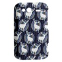 Geometric Deer Retro Pattern HTC Wildfire S A510e Hardshell Case View2